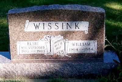 WISSINK, WILLIAM - Sioux County, Iowa | WILLIAM WISSINK