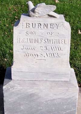 WOLFSWINKEL, BURNEY (SON OF H.&J.) - Sioux County, Iowa | BURNEY (SON OF H.&J.) WOLFSWINKEL