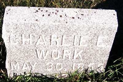 WORK, CHARLES E. - Sioux County, Iowa | CHARLES E. WORK