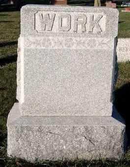 WORK, FAMILY HEADSTONE - Sioux County, Iowa | FAMILY HEADSTONE WORK