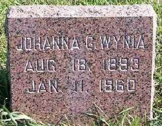 WYNIA, JOHANNA G. - Sioux County, Iowa | JOHANNA G. WYNIA