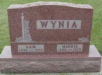 WYNIA, MINNIE - Sioux County, Iowa | MINNIE WYNIA