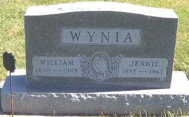 WYNIA, JENNIE - Sioux County, Iowa | JENNIE WYNIA