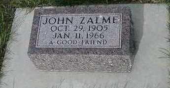 ZALME, JOHN - Sioux County, Iowa | JOHN ZALME
