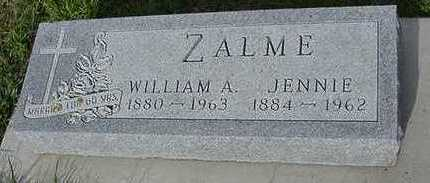 ZALME, WILLIAM A. - Sioux County, Iowa | WILLIAM A. ZALME