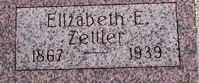 ZETTLER, ELIZABETH E. - Sioux County, Iowa | ELIZABETH E. ZETTLER