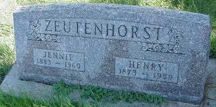 ZEUTENHORST, HANRY - Sioux County, Iowa | HANRY ZEUTENHORST