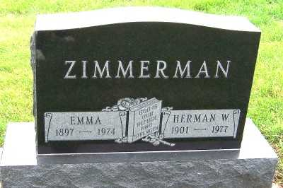 ZIMMERMAN, HERMAN W. - Sioux County, Iowa | HERMAN W. ZIMMERMAN