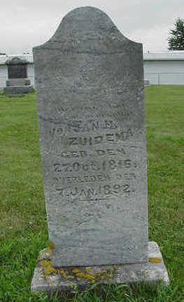 ZUIDEMA, JOHN H. - Sioux County, Iowa | JOHN H. ZUIDEMA