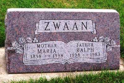 ZWAAN, RALPH - Sioux County, Iowa | RALPH ZWAAN