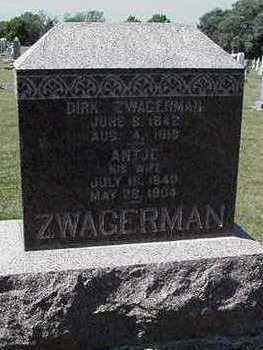 ZWAGERMAN, DIRK - Sioux County, Iowa | DIRK ZWAGERMAN