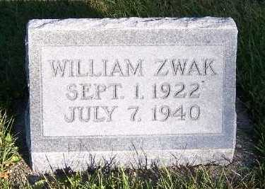 ZWAK, WILLIAM - Sioux County, Iowa | WILLIAM ZWAK