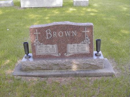 BROWN, WILLIAM - Story County, Iowa | WILLIAM BROWN