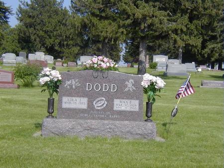 OSWALT DODD, LOLA - Story County, Iowa | LOLA OSWALT DODD