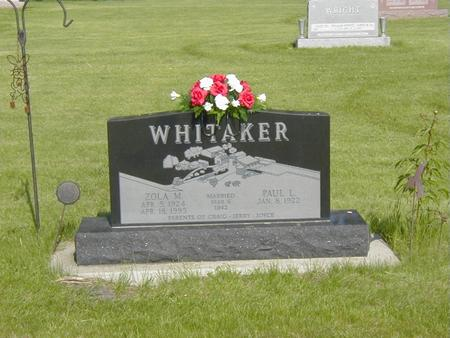 WHITAKER, PAUL - Story County, Iowa | PAUL WHITAKER