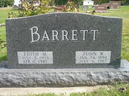BARRETT, EDITH M. - Story County, Iowa | EDITH M. BARRETT