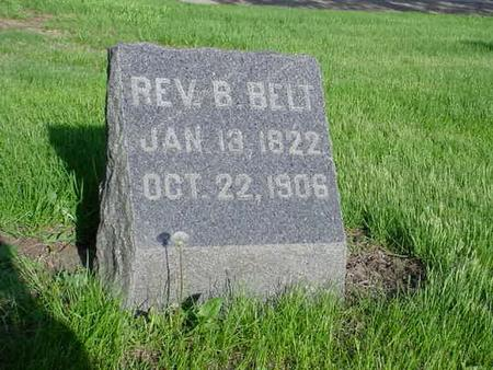BELT, REV. BENEDICT - Story County, Iowa | REV. BENEDICT BELT