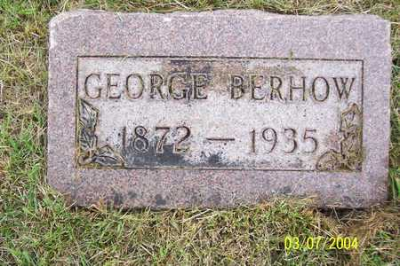 BERHOW, GEORGE - Story County, Iowa | GEORGE BERHOW