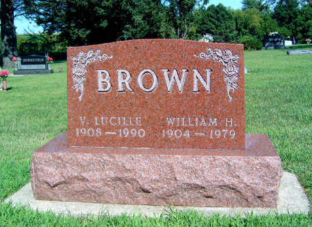 BROWN, V LUCILLE - Story County, Iowa | V LUCILLE BROWN