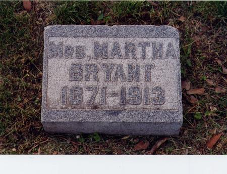 BRYANT, MARTHA - Story County, Iowa | MARTHA BRYANT