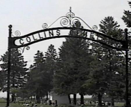 COLLINS GATE, CEMETERY - Story County, Iowa | CEMETERY COLLINS GATE