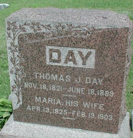 DAY, THOMAS JACKSON - Story County, Iowa | THOMAS JACKSON DAY