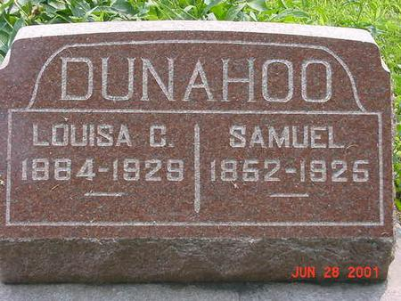 DUNAHOO, WILLIAM SAMUEL - Story County, Iowa | WILLIAM SAMUEL DUNAHOO
