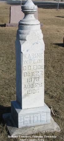 EIDE, KARINE - Story County, Iowa | KARINE EIDE