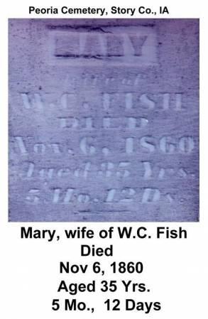 RANDEL FISH, MARY - Story County, Iowa | MARY RANDEL FISH