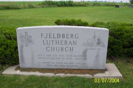 FJELDBERG LUTHERAN CHURCH, CEMETERY - Story County, Iowa | CEMETERY FJELDBERG LUTHERAN CHURCH