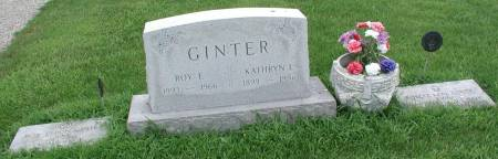 GINTER, KATHRYN L. - Story County, Iowa | KATHRYN L. GINTER