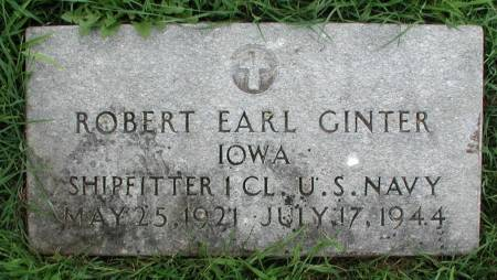 GINTER, ROBERT EARL - Story County, Iowa | ROBERT EARL GINTER