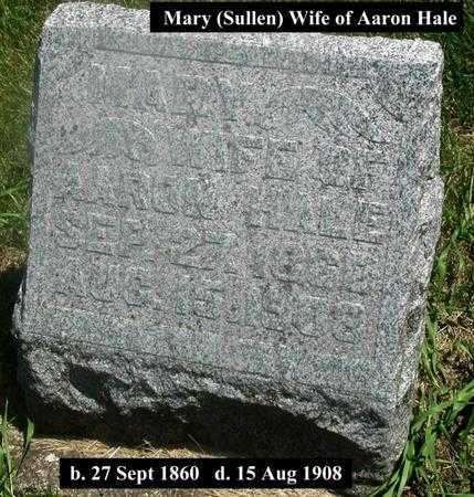 SULLEN HALE, MARY - Story County, Iowa | MARY SULLEN HALE