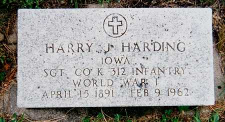 HARDING, HARRY J. - Story County, Iowa | HARRY J. HARDING