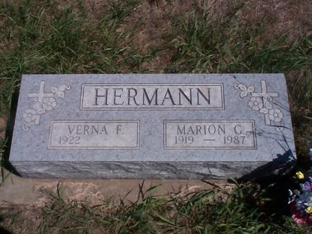 HERMANN, VERNA F. - Story County, Iowa | VERNA F. HERMANN