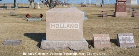HOLLAND, FAMILY STONE - Story County, Iowa | FAMILY STONE HOLLAND