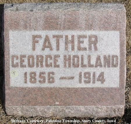 HOLLAND, GEORGE - Story County, Iowa | GEORGE HOLLAND