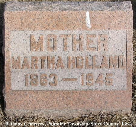 HOLLAND, MARTHA - Story County, Iowa | MARTHA HOLLAND