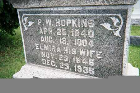 HOPKINS, ELMIRA - Story County, Iowa | ELMIRA HOPKINS