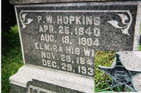 HOPKINS, P.W. - Story County, Iowa | P.W. HOPKINS