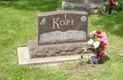 KOPF, MARY JANE - Story County, Iowa | MARY JANE KOPF