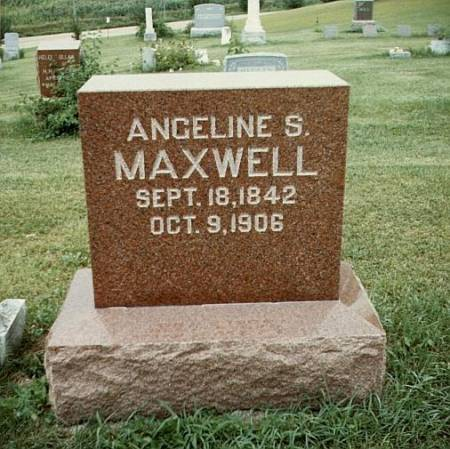 MAXWELL, ANGELINE SWEET - Story County, Iowa | ANGELINE SWEET MAXWELL
