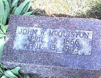 MCQUISTON, JOHN - Story County, Iowa | JOHN MCQUISTON