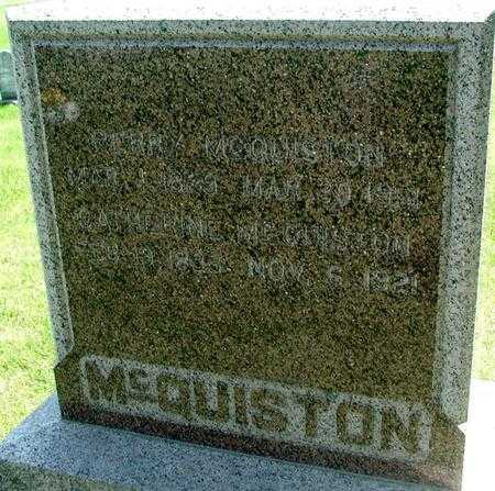 MCQUISTON, CATHERINE - Story County, Iowa | CATHERINE MCQUISTON