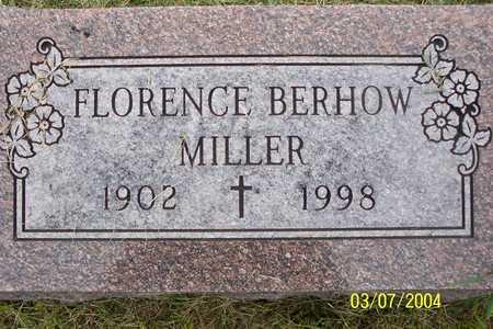 BERHOW MILLER, FLORENCE - Story County, Iowa | FLORENCE BERHOW MILLER