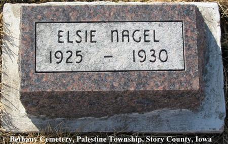 NAGEL, ELSIE - Story County, Iowa | ELSIE NAGEL