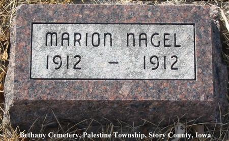 NAGEL, MARION - Story County, Iowa | MARION NAGEL