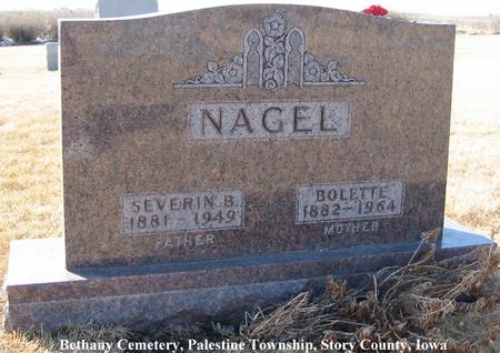 NAGEL, SEVERIN B. - Story County, Iowa | SEVERIN B. NAGEL