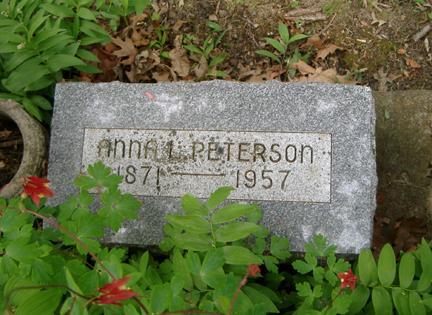 PETERSON, ANNA L. - Story County, Iowa | ANNA L. PETERSON