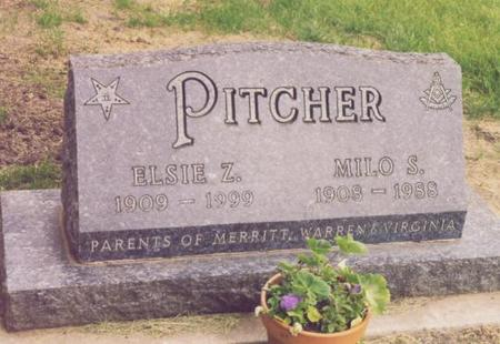 PITCHER, ELSIE Z. - Story County, Iowa | ELSIE Z. PITCHER